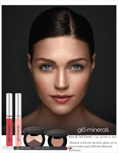 glo-minerals Kiss and Tell Event Jan 26 - Feb 6 2015